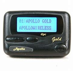 Apollo Gold Alphanumeric Pager